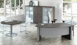 Grey Office Desks Awesome Managerial Office Desking Throughout Grey Office Desk
