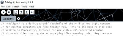 pc software options for adalight processing vs prismatik parts