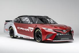 toyota international cp motorsports toyota unveils 2018 nascar camry at north