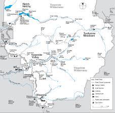 california map national parks yosemite national park maps