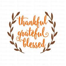 thankful grateful blessed svg fall svg autumn svg thanksgiving