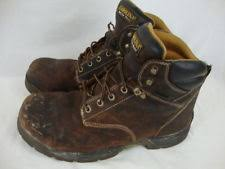 s insulated boots size 12 carolina ca3532 brown leather insulated composite toe work boots