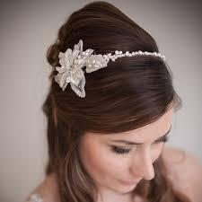 wedding headband flower wedding headband chez bec