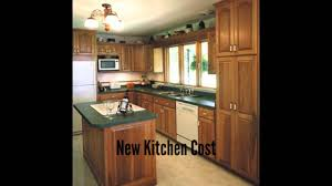 Price Of New Kitchen Cabinets New Kitchen Cost Youtube