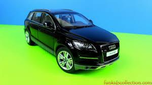 Audi Q7 Models - audi q7 facelift original die cast model car 1 18 black by kyosho