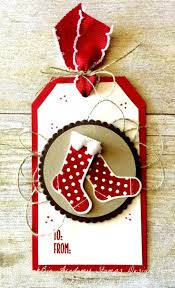 507 best stampin up christmas tags images on pinterest