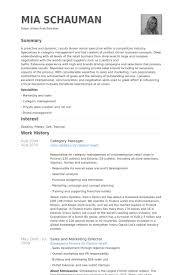 Management Resumes Samples by Category Manager Resume Samples Visualcv Resume Samples Database