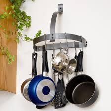 kitchen oval stainless steel pot rack airmaxtn