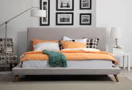 nixon beige linen king bed from tov b14 beige k coleman furniture