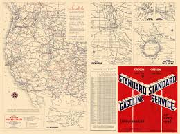 map salt lake city to denver old state map western united states gousha 1935