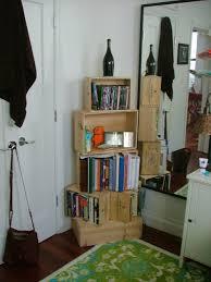 wine crate bookshelf 5 steps