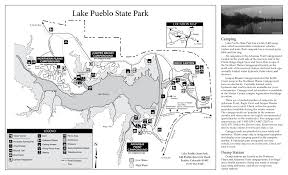 Castle Rock State Park Map by Lake Pueblo State Park Outthere Colorado