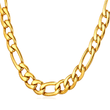 gold metal chain necklace images Online shop collare figaro necklaces 316l stainless steel 3mm 5mm jpg