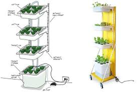 Build Your Own Indoor Garden - super cool ideas how to make a hydroponic garden interesting