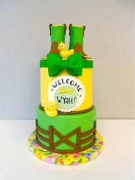 deere baby shower artylicious cakes