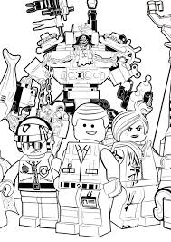 printable pictures lego movie coloring 92 remodel