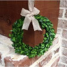 preserved boxwood wreath large boxwood wreath wayfair