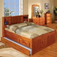 Bed Full Captains Bed With Storage Drawers Foter