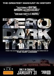 zero dark thirty movie posters fonts in use
