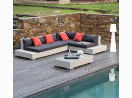 canapé d angle de jardin canapé de jardin droit ou d angle de 2 à 6 personnes