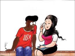 سخرية فتاة من شاب أسود ؟ أنظروا الرد..........  Images?q=tbn:ANd9GcS5y2BOPK6s54JSgeg1GW4EE9Co-jLGAljxFYySNYHgpOSZn9ch
