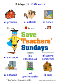 primary spanish resources house