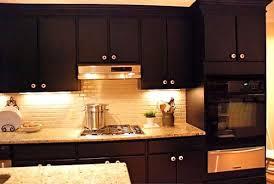 dark kitchen cabinets with light granite lovely modern family room
