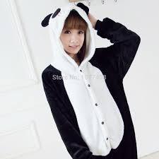 animal footed pajamas onesie autumn winter home suit