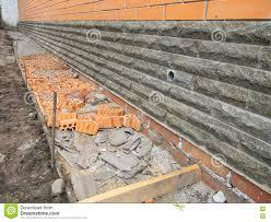building foundation waterproofing new construction waterproofing