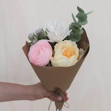 paper flower bouquet bouquet amaranthus paper flora