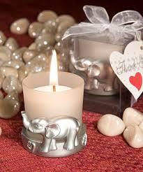elephant favors unforgettable elephant design candle favors wedding bliss baby