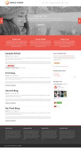 Free Homepage For Website Design Theme Project Drupal Org