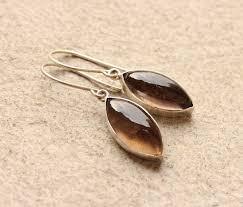 smoky quartz earrings buy one of a handmade smoky quartz jewelry online at