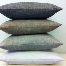 Grey Linen Cushions Shop Throw Pillows For Grey Couch On Wanelo
