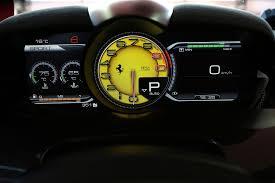 ferrari 458 speedometer ferrari laferrari first drive motor trend