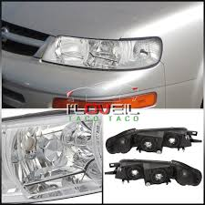 nissan maxima toy car 1piece replacement chrome housing headlight pair fit 1995 1999