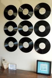 Wall Decor Bedroom Best 25 Record Wall Ideas On Pinterest Record Wall Art Record