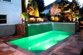 small pools for small yards best backyard pool designs pools for small yards with sunbed and