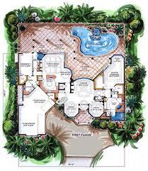 mediterranean floor plans house plan 60451 at familyhomeplans com