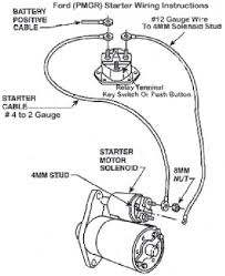 1961 ford starter solenoid wiring ford wiring diagram instructions