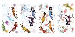 rmk2058scs disney fairies secret of the wings wall stickers with disney fairies secret of the wings wall stickers with glitter