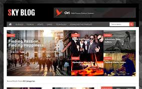 download desain majalah template blogger gratis terbaik page 1 galih gasendra