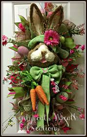 269 best bunny wreaths images on pinterest easter wreaths