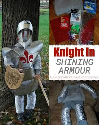 Shining Halloween Costume Easy Affordable Diy Costume Instructions Knight