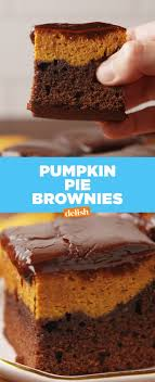 pumpkin you need these brownies in your stat get the