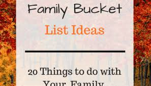 30 family list ideas just simply enough