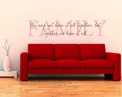 Wall Art Quotes Stickers Family Quotes Wall Decal Family Vinyl Art Stickers