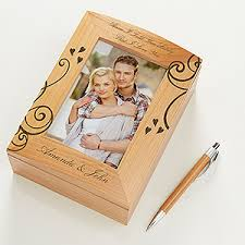engraved memory box i you engraved wood photo memory box
