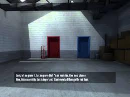 Red Door The Stanley Parable Red Door Ending Youtube