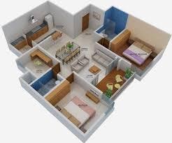 A Three Bedroom House Plan Shriram Southern Crest In Kumaraswamy Layout Bangalore Price